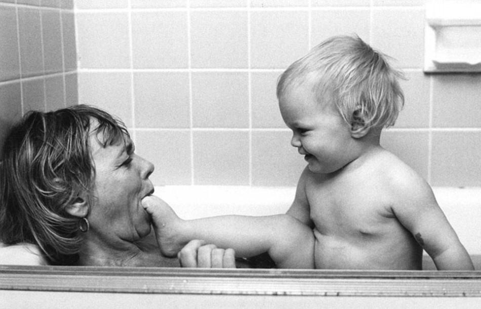 50年前感动世界亲子照