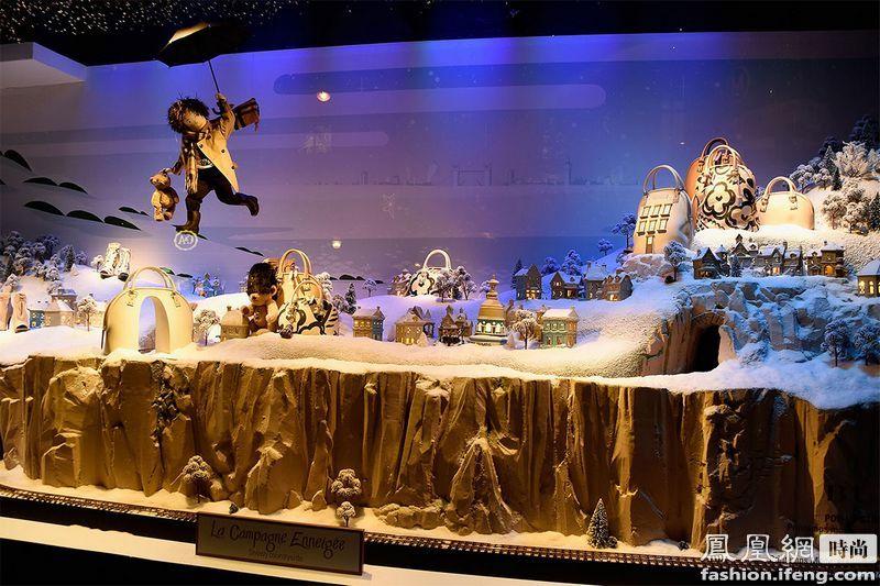2014全球百货公司最震撼的圣诞橱窗设计