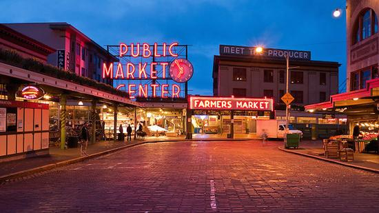派克市场高清图片