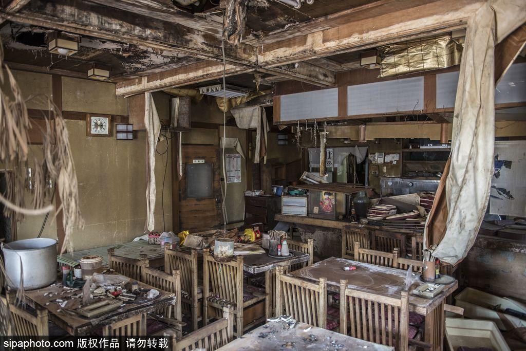 核灾难五年后的福岛隔离区 波兰摄影师记录那些被遗忘