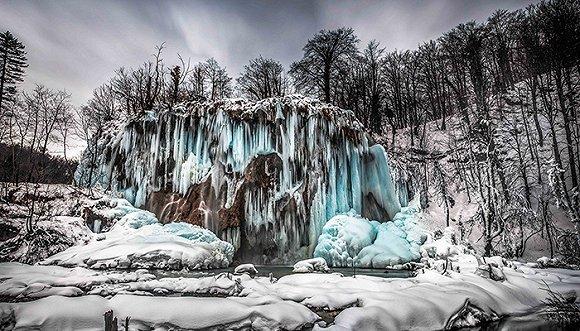 冬日克罗地亚风景如幻