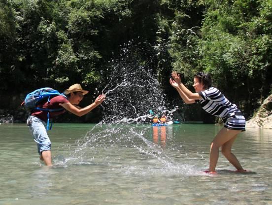 采摘季、湿身节、民族体育竞技暑期去石门河里嗨翻天
