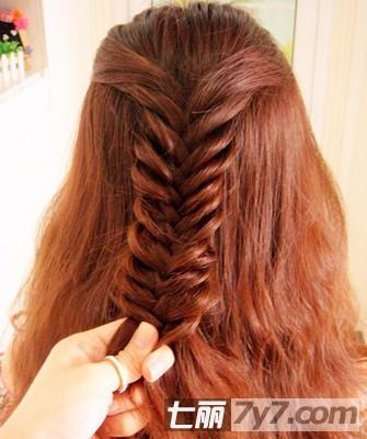 2012夏季最流行丸子+图解长发变气质发型短发萌小希发型头图片