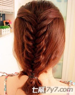 图解长发变短发气质发型