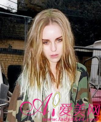 色性艺术_欧美街头染发造型色彩缤纷超惊艳[4]-中国日报网