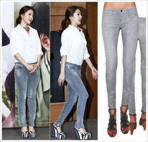 穿牛仔裤中国女明星