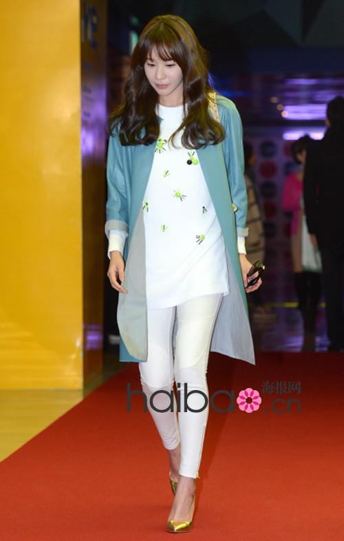 韩国女明星着装精选