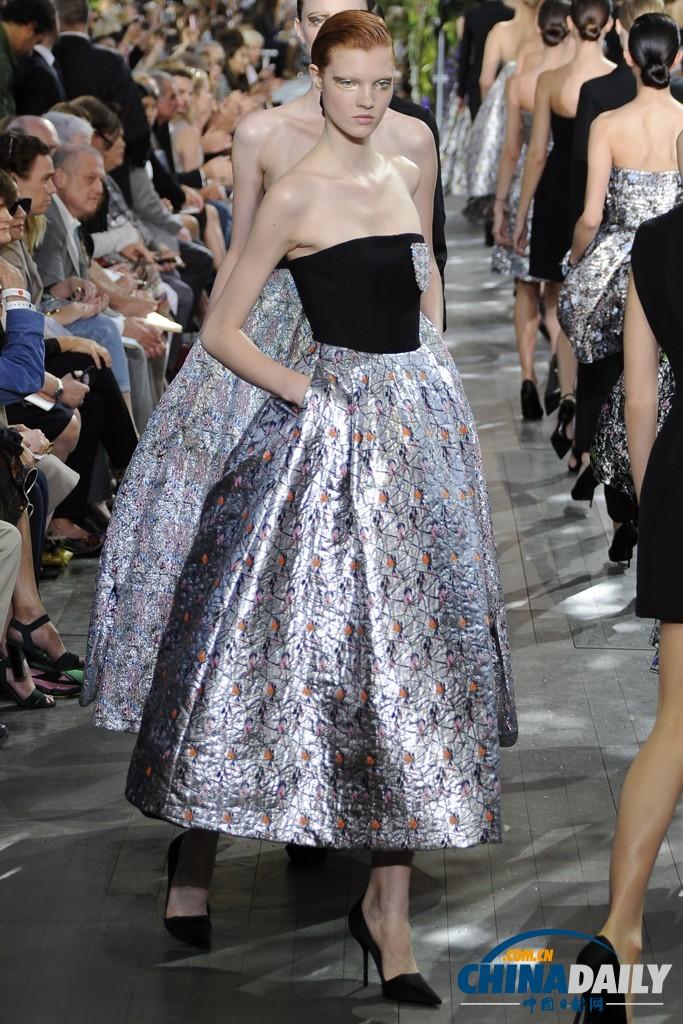 高清:2014春夏巴黎时装周 dior秀场