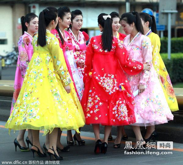 揭秘朝鲜女性真实时尚生活 中文文化